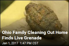 Ohio Family Cleaning Out Dead Relative's Home Finds Live Grenade