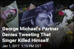 George Michael's Partner Denies Tweeting That Singer Killed Himself