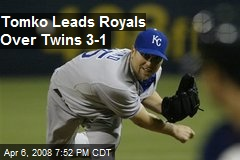 Tomko Leads Royals Over Twins 3-1
