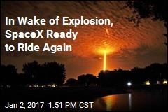 In Wake of Explosion, SpaceX Ready to Ride Again