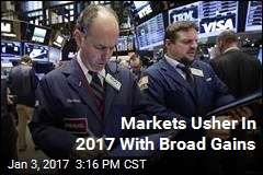 Markets Usher In 2017 With Broad Gains