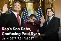 Paul Ryan Confused by Dab During Photo Op