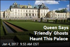 Queen Says 'Friendly' Ghosts Haunt This Palace
