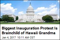 Hawaii Grandma Started DC's Biggest Inauguration Protest