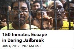 Daring Jailbreak Frees 150 in Philippines