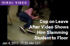 Caught on Tape: Cop Throwing Student to Floor