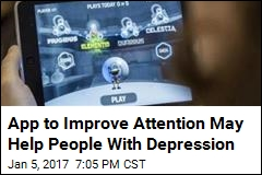 App to Improve Attention May Help People With Depression