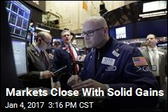 Markets Close With Solid Gains