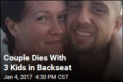 Couple Dies With 3 Kids in Backseat