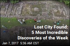 Lost City Found: 5 Most Incredible Discoveries of the Week