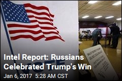 US 'Intercepted Russians Celebrating Trump Win'