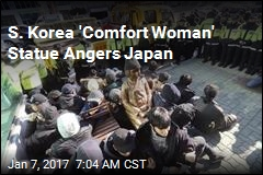 S. Korea 'Comfort Woman' Statue Angers Japan
