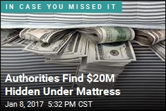 Authorities Find $20M Hidden Under Mattress