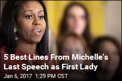 5 Best Lines From Michelle's Last Speech as First Lady