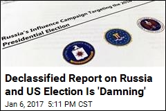 Putin Ordered US Election 'Influence Campaign': Report