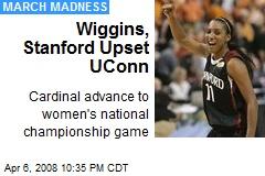 Wiggins, Stanford Upset UConn