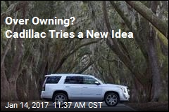 Over Owning? 'Subscribe' to Cadillac for $1.5K a Month
