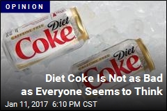 Stop Vilifying Diet Coke