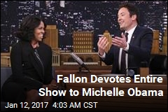 Fallon Devotes Entire Show to Michelle Obama