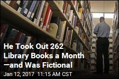 He Took Out 262 Library Books a Month —and Was Fictional