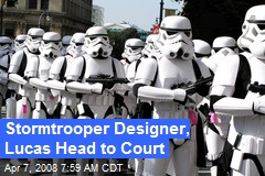 Stormtrooper Designer, Lucas Head to Court