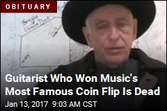 Guitarist Who Won Music's Most Famous Coin Flip Is Dead