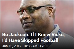 Bo Jackson: If I Knew Risks, I'd Have Skipped Football