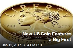 A Big First for Diversity on a US Coin