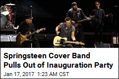 Springsteen Cover Band Pulls Out of Trump Party