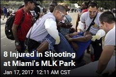 8 Injured in Shooting at Miami's MLK Park