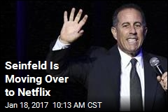 Seinfeld Is Moving Over to Netflix