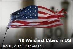 10 Windiest Cities in US