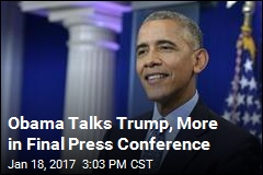 Obama Holds Final White House Press Conference