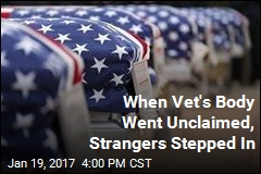 When Vet's Body Went Unclaimed, Strangers Stepped In