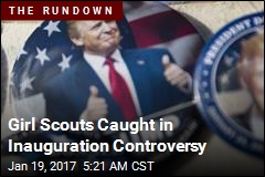 Girl Scouts Caught in Inauguration Controversy