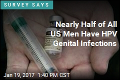 25% of US Men Have HPV Genital Infections Tied to Cancer