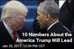 10 Numbers About the America Trump Will Lead