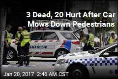 3 Dead, 20 Hurt After Car Mows Down Pedestrians