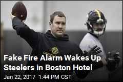 Fake Fire Alarm Wakes Up Steelers in Boston Hotel