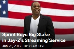 Sprint Buys Big Stake in Jay-Z's Streaming Service