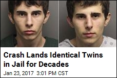 Identical Twins to Spend Decades Behind Bars
