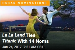 La La Land Ties Titanic With 14 Noms