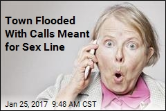 Town Flooded With Calls Meant for Sex Line