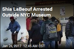 Shia LaBeouf Arrested Outside NYC Museum