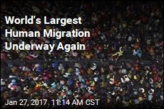 World's Largest Human Migration Underway Again