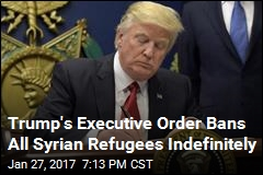 Critics Say Trump's Executive Order Is Clear 'Muslim Ban'