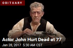 Actor John Hurt Dead at 77