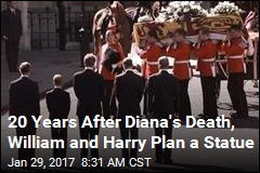20 Years After Diana's Death, William and Harry Plan a Statue
