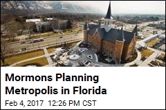 Mormons Planning Metropolis in Florida