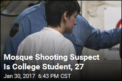 Mosque Shooting Suspect Is College Student, 27
